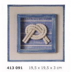 Cuadro decoración náutico con nudo marinero                                                                                                                                                                                 Más Rope Decor, String Art, Recipe Collection, Decoration, Nautical, Shabby Chic, Frame, Handmade, Crafts