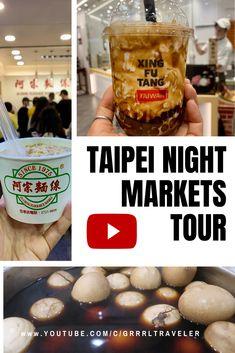 TAIPEI NIGHT MARKETS + Street FOOD Tour Taiwan