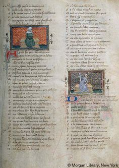 Roman de la Rose, MS G.32 fol. 3r - Images from Medieval and Renaissance Manuscripts - The Morgan Library & Museum