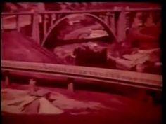 1966 - A Ponte Salazar sobre o rio Tejo (Leitão de Barros)