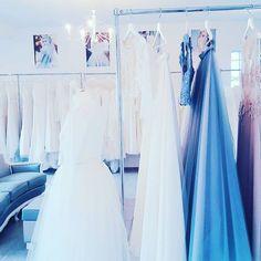 ATELER #weddingroom #gdynia #sandomierska2 #colorfull #incolor #weddingdress #bridetobe #bride2017 #trendy #trends #dustyblue #blue #purple #lekkiesuknie #laces #koronki