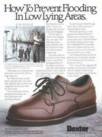 Dexter Shoes, Weather Walker 1989 Ad Picture