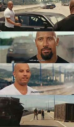Fast and Furious Fast And Furious Memes, Fast Furious 1, Movie Fast And Furious, Furious Movie, The Furious, Dom And Letty, Dominic Toretto, Fast Quotes, Fast Five