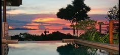 Amazing Sunset - Koh Samui, Thailand Just think how amazing it will be to end a day with this image.
