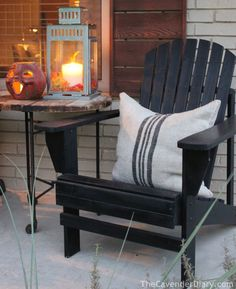 black adirondack chairs - Google Search