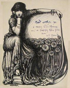 wt benda lady illustration