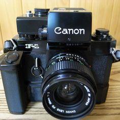 #16 Canon F-1 : 想い出カメラ