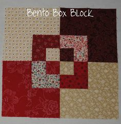 Sew Me Something Good: Scrappy Bento Box Block - Tutorial