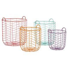 Maya Metal Baskets