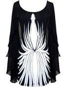 Printed Spellbinder Dress