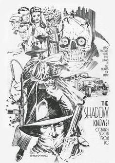 Steranko Shadow. Doesn't get much better than that.
