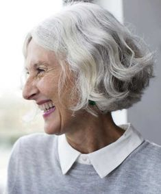 15.Bob Hairstyle for Older Women
