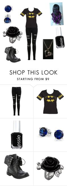 """""""Me #11"""" by ptx1 ❤ liked on Polyvore featuring Miss Selfridge, Essie and Bling Jewelry"""