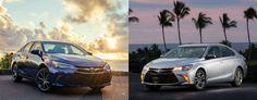 2017 Toyota Camry LE vs 2017 Toyota Camry SE Trim Level Comparison
