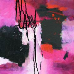 Abby Creek Studios: New Abstract on Canvas
