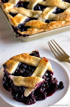 Blue skies and blueberry pies. Celebrate the warm-weather months with our most pristine, mouthwatering dessert to satisfy the whole tribe. This blueberry slab pie recipe is our favorite dessert to prepare for the masses.