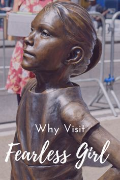 Reasons to visit Fearless Girl sculpture in New York City  via @thethoughtcard