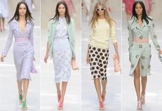 Burberry Prorsum spring 2014 collection from London Fashion Week