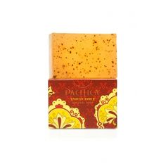 spanish amber vegan and gluten free natural soap from Pacifica | Find more cruelty-free beauty @Quirkist |