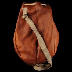 Leather Ditty Bag