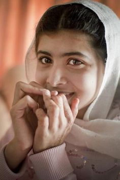 Malala Yousafzai - winner of the Nobel Peace Price 2014