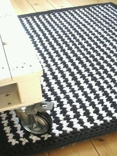 Free Pattern For Rectangle T Shirt Yarn Trapillo Rug