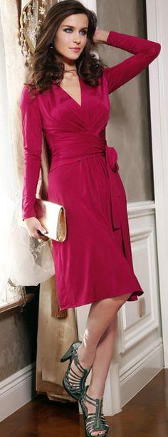 wrap dress.....perfect