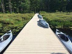 Kayak, Pier, Watersports, Lake, Summer