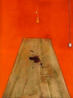 Francis Bacon, Blood on the floor, 1986