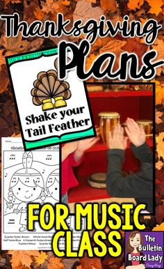 Thanksgiving in music class can be a great time to sing, move and reflect.  Add some of these tried and tested activities to spice up your lesson plans in November or any time this fall.  Get your students dancing, singing, coloring and more!