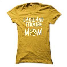 LAKELAND TERRIER mom! - #mens sweatshirts #music t shirts. BUY NOW => https://www.sunfrog.com/Pets/LAKELAND-TERRIER-mom-I-love-my-LAKELAND-TERRIER-5058-Yellow-17519480-Ladies.html?id=60505