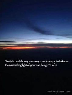 Astonishing light of your own being