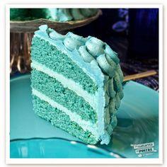 LA CUCHARITA DEL POSTRE: LAYER CAKE DE TERCIOPELO AZUL / BLUE VELVET LAYER CAKE