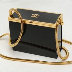 Lil' black & gold box. @thecoveteur