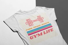 Gym Life Sweatshirt from Corrido Designs, a custom product made just for you by Teespring. Twitch Hoodie, Hoodies, Sweatshirts, Order Prints, Just For You, Gym, Mens Tops, T Shirt, Life