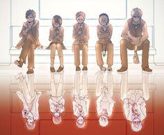 Tags: Pixiv, Durarara!!, Orihara Izaya, Kida Masaomi, Sonohara Anri, Heiwajima Shizuo, Ryuugamine Mikado, yui930