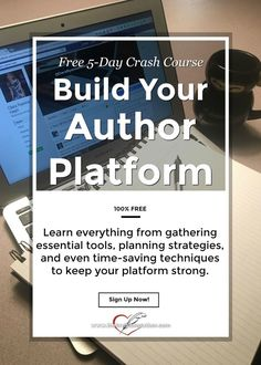 Learn the basics of building an author platform that will draw readers to you and make it easier for them to find you. Free eCourse.