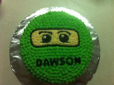 Lego Ninjago cake!