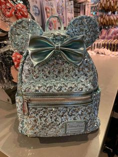 Brand new with tags Disney Loungefly Arendelle Aqua sequin backpack. Bag is purse sized and is so beautiful! Perfect for a day at the theme parks! Cute Mini Backpacks, Stylish Backpacks, Girl Backpacks, Disneyland Backpack, Mini Mochila, Disney Themed Outfits, Disney Purse, Sequin Backpack, Disney Merchandise