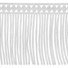 Diamond Lace Fringe - Trims By The Yard Tassel Curtains, Fringe Trim, Fringes, Victorian, Yard, Diamond, Fabric, Tejido, Bangs