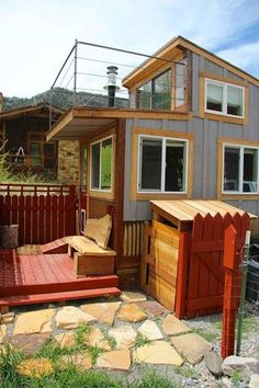 500-square-foot Small House with an amazing floor plan that is quite on