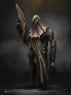 Boned cyborg, Albert Urmanov on ArtStation at http://www.artstation.com/artwork/boned-cyborg