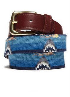 Bonobos Shark Belt!