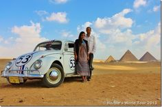 Herbie at the Pyramids | Herbie's World Tour