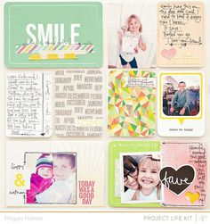 Smile+Project+Life+Layout+{STudio+Calico+March+Kit+by+MaggieHolmes+@2peasinabucket
