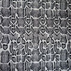 The Fabric Fairy Grey Python Nylon Spandex Swimsuit Fabric