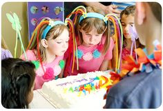 Rainbow Theme Birthday Party Ideas and How-to