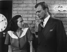 Young Charlie Newton (Teresa Wright) and Uncle Charlie Oakley (Joseph Cotten) in Shadow of a Doubt (1943). Director: Alfred Hitchcock.