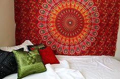 Jaipurhandloom Indian Wall Hanging Hippie Mandala Tapestry Bohemian Bedspread Ethnic Dorm Decor Jaipur Handloom http://www.amazon.com/dp/B0181VLBL6/ref=cm_sw_r_pi_dp_5RwAwb1B5TCZB