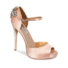 Brides: Rose Gold Wedding Shoes